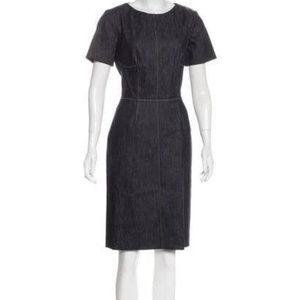 NWT Derek Lam Jean Dress size 46 /10us